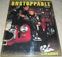 LA Gear Unstoppable Promo Poster *MJ On Car With Boy* (USA)