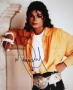 Liberian Girl Sleeve Cover Photo Signed By Michael (1989)