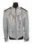 Life Magazine Photoshoot Silver Jacket Worn By Michael Jackson (1997)