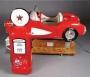 Little Red Corvette & Gas Pump Kiddie Ride