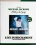 Live In Bucharest *El Rey Del Pop/El Comercio Magazine* Official Limited Edition Book+DVD Set (Perù)