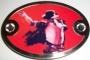 "Michael Jackson ""London 09"" Belt Buckle"