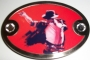"Michael Jackson ""London 09"" Belt Buckle"