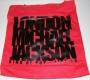 London KingOf Pop Official Red Tote Bag (UK)