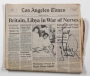 Los Angeles Times 4/18/84 Signed By Michael (1984)