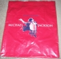 King Of Pop Official Cotton Red Tote Bag (USA)