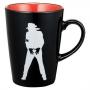 MJ 46 *Michael Jackson Exhibition* Black Mug (Japan)
