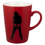 MJ 46 *Michael Jackson Exhibition* Red Mug (Japan)