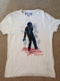 MJ Billie Jean Official *Amplified* White Men Shirt (UK)