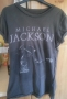 MJ Billie Jean Open Arm Official *Amplified* Black Mens Shirt (UK)