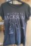 MJ Billie Jean Open Arm Official *Amplified* Black Mens Shirt (UK)