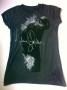 MJ Billie Jean Profile Signature Official *Amplified* Black Womens Sleeveless Shirt (UK)