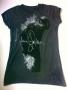 MJ Billie Jean Profile Signature Official *Amplified* Black Womens Sleeveless Shirt (UK)