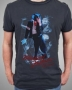 MJ Billie Jean Smoke Official *Amplified* Black Mens Shirt (UK)