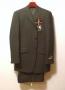 MJ Official Men's Clothing Line Black Pinstripe Suit  Model 40649 (Japan)