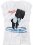 MJ Dancing Feet Official *Amplified* White Womens Sleeveless Shirt (UK)