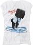 MJ Dancing Feet Official *Amplified* White Womens Sleeveless Shirt (UK)