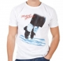 MJ Dancing Feet Official *Amplified* White Mens Shirt (UK)