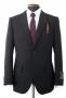 MJ Official Men's Clothing Line Black Suit Model 05409 (Japan)