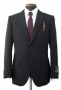 MJ Official Men's Clothing Line Black Suit Model 05409 (Japan)