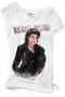 MJ *BAD* Official Zara White Womens T-shirt (UK)