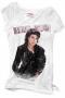 MJ *BAD* Official Zara White Womens T-shirt (UK)