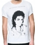 MJ *BAD* Official Zara White Mens T-shirt (UK)
