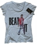 MJ *Beat It* Official White Womens T-shirt (UK)