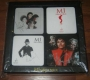 MJ 'Gallery At Ponte 16'  Wooden 'Thriller' 4 Coaster Set (Macao)