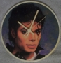 Michael Jackson 'Who's Bad?' Unofficial Wall Clock (UK)