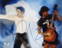MTV Video Music Awards Photo Signed By Michael And Slash (1995)