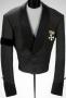 Magic Kingdom Press Conference Black Faux Leather Jacket (1998)