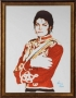 Mattew Rolston Red Military Jacket Photoshoot Signed Digital Print On Canvas (1983)