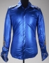 Metallic Blue Long Sleeve Shirt (Date Unknown)