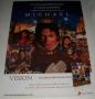 Michael 2010 CD/Visions DVD Promo Poster (Brazil)
