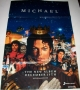 Michael CD Album Official Promo Folded Poster (China)