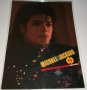 (1989) Michael Jackson Unofficial Calendar (Culture Shock) (UK)
