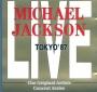 """Michael Jackson Live:  Tokyo '87"" Live Concert CD (Germany)"