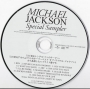 Michael Jackson Special Sampler 13 Track CD-R (Japan)