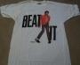 "Michael Jackson ""Beat It"" Official Gray T-shirt (USA)"