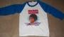 "Michael Jackson ""Thriller"" Official White ""Baseball"" Style Shirt (USA)"