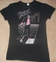 "Michael Jackson ""Billie Jean Light Box"" Girlie Black Bravado T-Shirt (USA)"