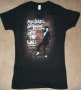 "Michael Jackson ""Brickhouse"" Girlie Black Bravado T-Shirt (USA)"