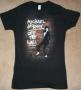 "Michael Jackson ""Brickhouse"" Girlie Black Bravado T-Shirt (USA)"