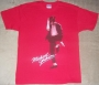 "Michael Jackson ""Dancer at Large"" Red Bravado T-Shirt (USA)"