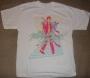 """Michael Jackson """"Beat It"""" White Bravado T-Shirt (USA)"""