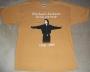 "Michael Jackson ""Birthday"" Mustard Gold Bravado T-Shirt (USA)"