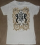 "Michael Jackson ""Couture Juniors"" Girlie White Bravado T-Shirt (USA)"