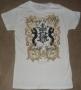 "Michael Jackson ""Couture Juniors"" Girlie White Bravado T-Shirt (USA)"