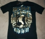 "Michael Jackson ""London Silhouette Crest"" Black Bravado T-Shirt (UK)"